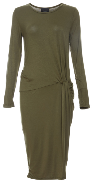 Mica Side Ruched Fitted Dress