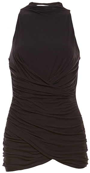 Bailey 44 Ruched Sleeveless Top