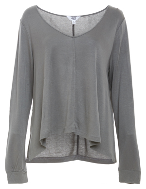 Jack by BB Dakota Hurst Side Slit Relaxed Top