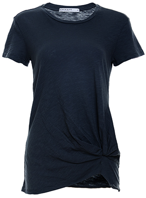 Stateside Short Sleeve Front Twist Tee