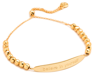 Gorjana 'Believe In Yourself' Intention Bracelet