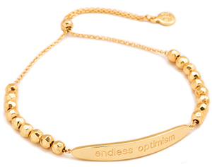 Gorjana 'Endless Optimism' Intention Bracelet
