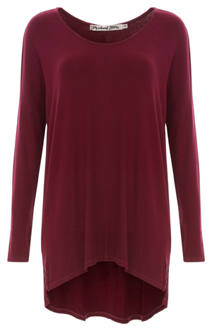 Michael Stars Allie Knit Tunic Top