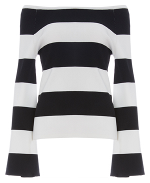Shonda Long Sleeve Striped Top