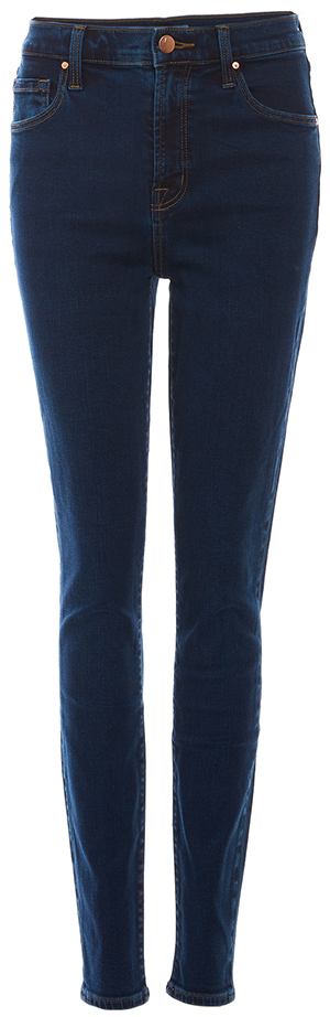 J Brand Carolina Super High Rise Skinny