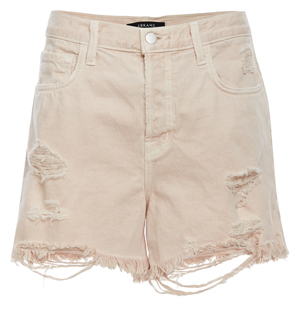 J Brand High Rise Cutoff Denim Shorts
