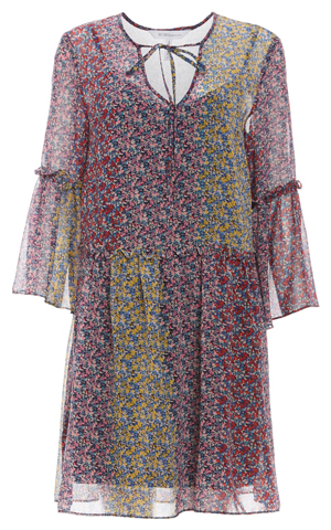BCBGeneration Confetti Floral A-Line Dress