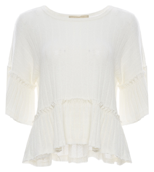 Moon River Extended Sleeve Top