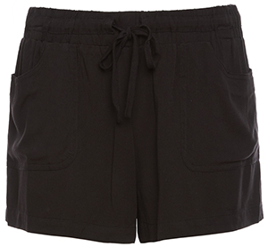 Drawstring Flowy Short