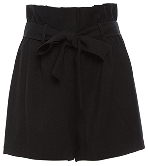 Emma Bow Tie  Waist Loose Shorts