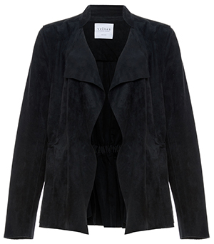 Velvet by Graham & Spencer Faux Suede Jacket