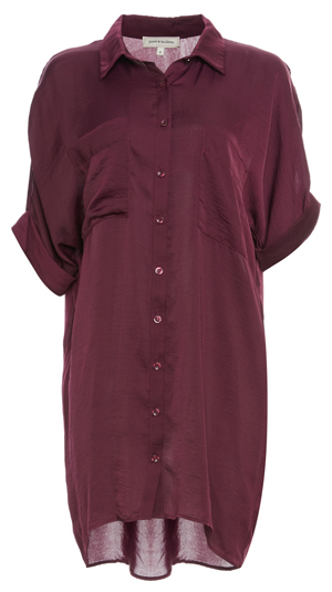 Button Up Two Pocket Tunic