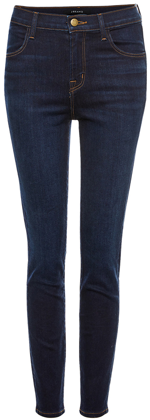 J Brand for DAILYLOOK Exclusive Alana High Rise Crop Skinny