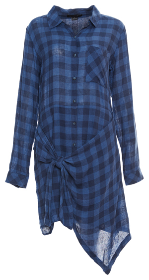Sanctuary Buffalo Plaid Shirt Dress