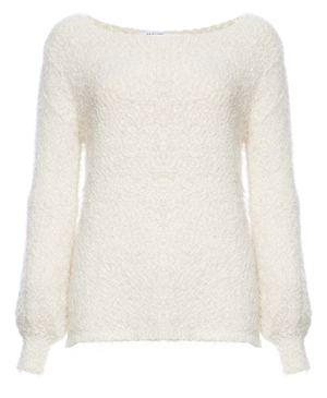 BB Dakota Fuzzy Boat Neck Sweater