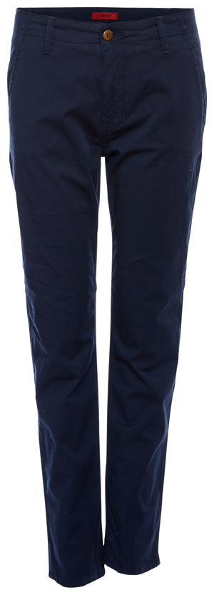 1Denim Cropped Trousers with Welt Pockets