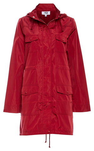 Jack by BB Dakota Zip Up Raincoat