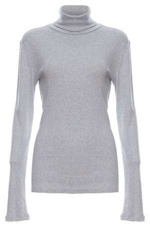Splendid 1x1 Rib Turtleneck
