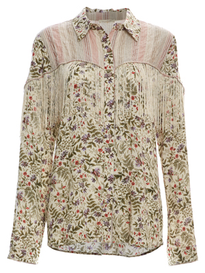 Mystree Button Up Printed Top