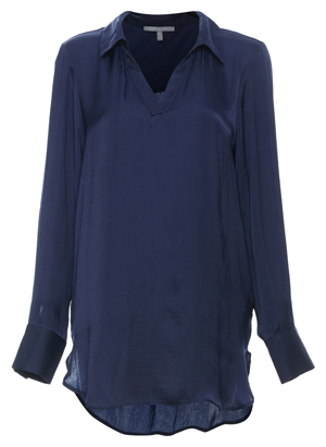 Tart Collections Split Neck Collared Tunic
