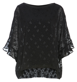 Loose 3/4 Sleeve Top