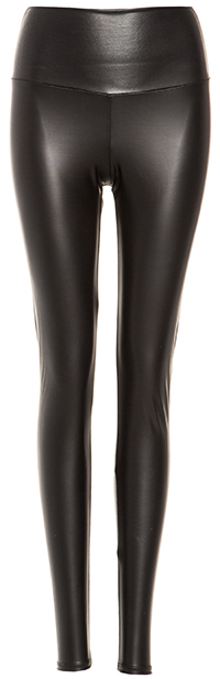 High Waist Vegan Leather Leggings