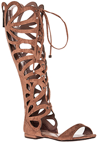 Scalloped Gladiator Sandals