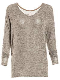 Dolman Sleeve Knit Top