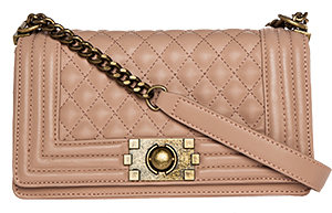 DAILYLOOK Quilted Vegan Leather Purse