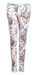 Country Floral Jeans