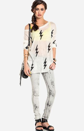 b409d8a7ec7 Dakota Collective Blaine Sweater in White