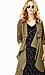 Line & Dot Flowy Trench Coat Thumb 5