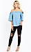 Just Black Ariel Mid Rise Distressed Skinny Jeans Thumb 3