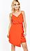 Milly Sleeveless Asymmetrical Wrap Dress Thumb 3