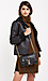Velvet by Graham & Spencer Draped Faux Sherpa Jacket Thumb 3