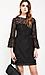 BB Dakota Fluttered Sleeve Lace Dress Thumb 3