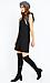 Charmaine Ruffle Sleeveless Knit Dress Thumb 3