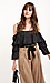Contrast Self Tie Belted Wide Leg Pants Thumb 3