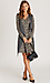 Long Sleeve Printed Wrap Dress Thumb 4