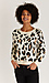 Leopard Print Crew Neck Sweater Thumb 3
