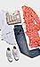 Vero Moda Long Sleeve Printed Wrap Dress Thumb 3