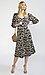 Elbow Sleeve Tiered Midi Dress Thumb 3