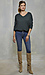 Liverpool Exposed Button Fly Ankle Skinny Thumb 6