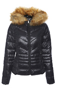 Vero Moda Faux Fur Hooded Jacket