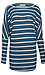 Striped Brushed Long Sleeve Top Thumb 1