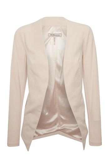 BCBGeneration Collarless Tailored Blazer Slide 1