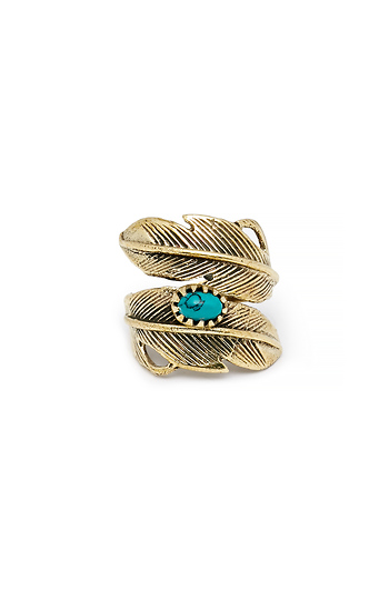 Natalie B Light As A Feather Ring Slide 1