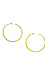 Gorjana Taner XL Hammered Hoop Earrings Thumb 1