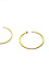 Gorjana Taner XL Hammered Hoop Earrings Thumb 2