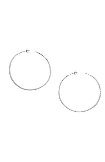 Gorjana Taner XL Hammered Hoop Earrings Slide 1
